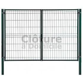 Portail Hercules Plus - idéal avec clôture rigide