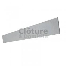 Plaque béton lisse 192 x 25 x 3.3 cm