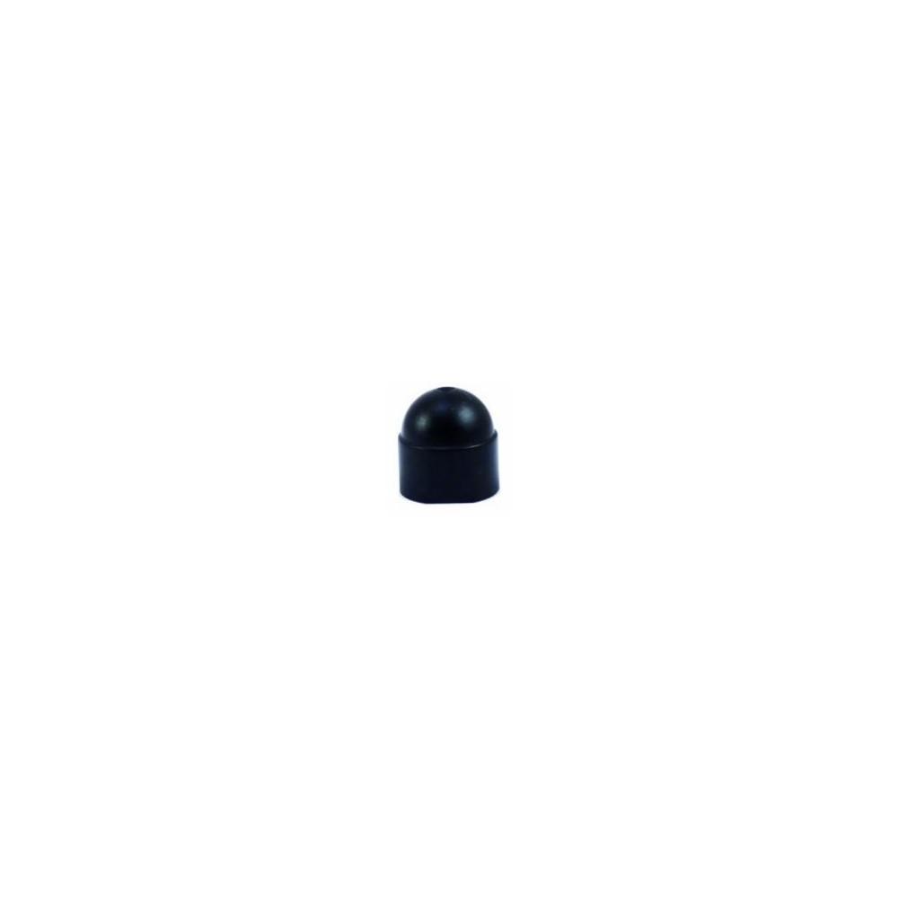 cache écrou noir plastique M10