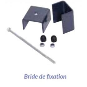 Bride de fixation poteau gabion 7016