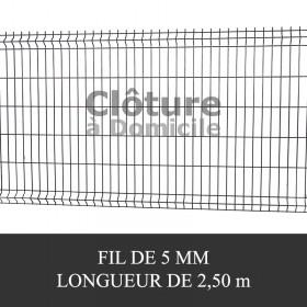 Panneau rigide pour clôture rigide easy clip ou quickfix