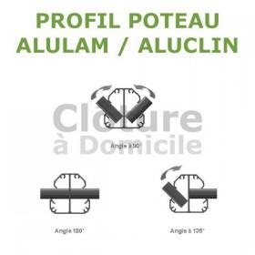 Poteau Alulam / Aluclin