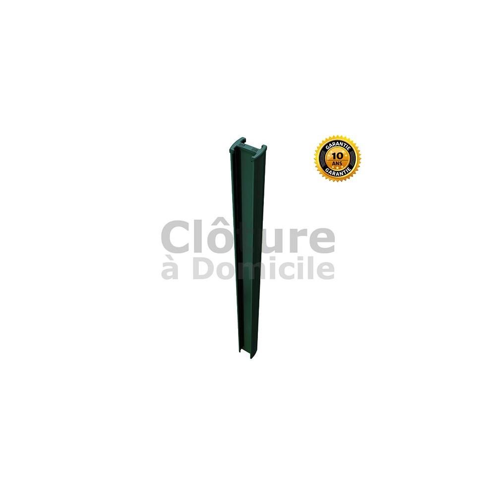 Poteau Easy Clip pour clôture en panneau rigide