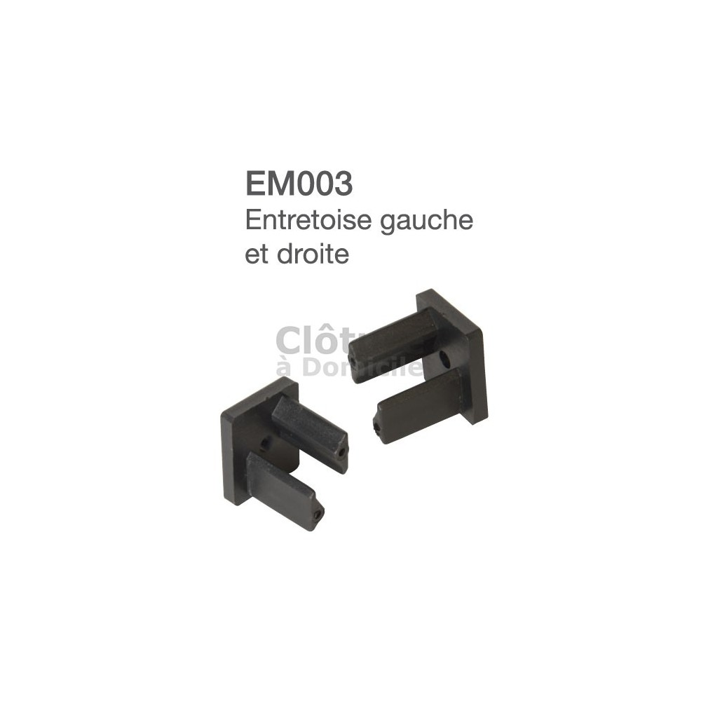 Entretoise PVC Gauche + Droite