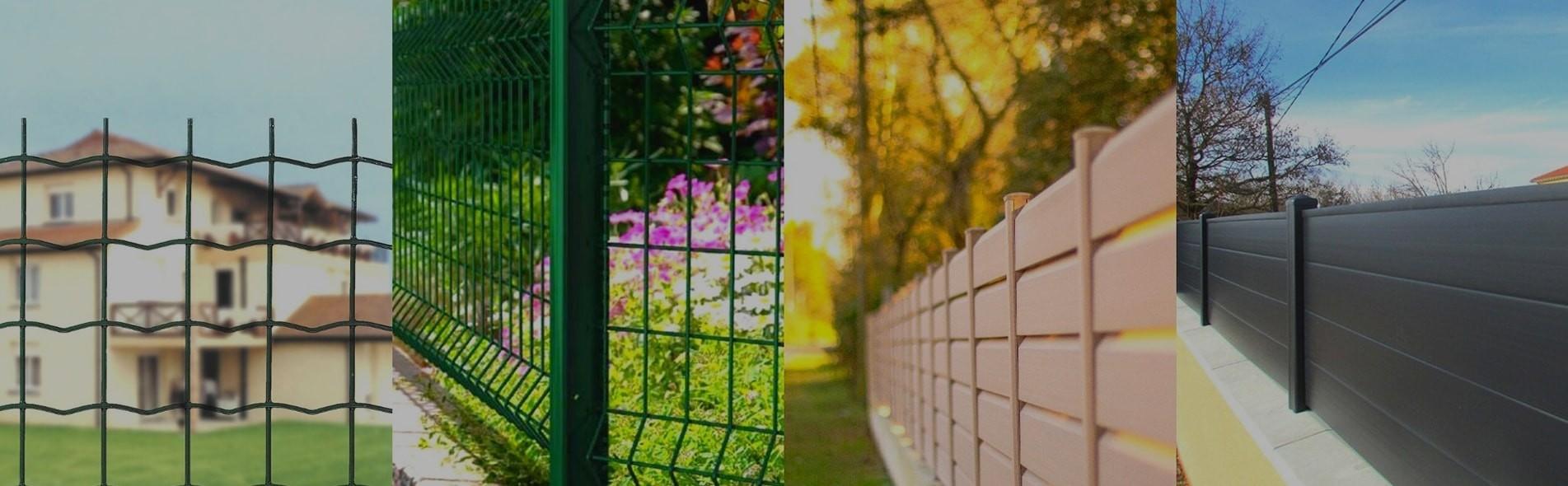 Configurateur pour clôture rigide, souple pvc et aluminium
