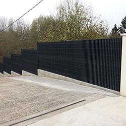 Vente de clôtures rigides (PVC, ALU) grillages & portails - Clôture ...